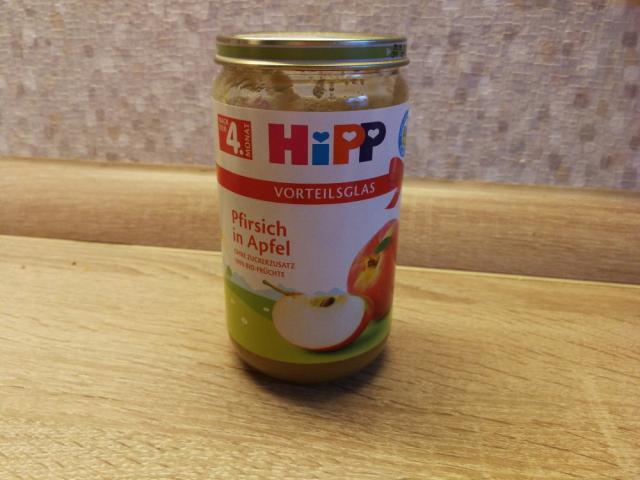 HIPP Pfirsich in Apfel, ohne zuckerzusatz von booksalive97 | Hochgeladen von: booksalive97