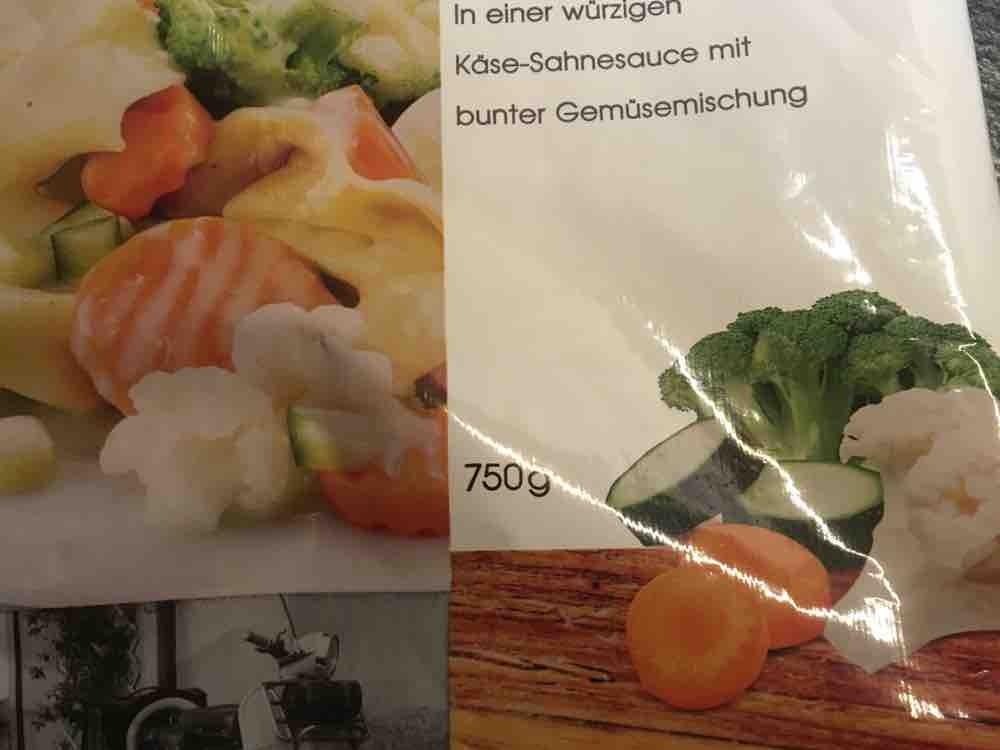 Tortelloni Käse-Sahne, mit bunter Gemüsemischung von merling | Hochgeladen von: merling