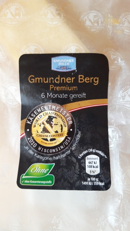Gmundner Berg Käse von oborko   Hochgeladen von: oborko
