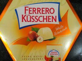 Ferrero Küsschen, Weiße Schokolade   Hochgeladen von: Mozart06x