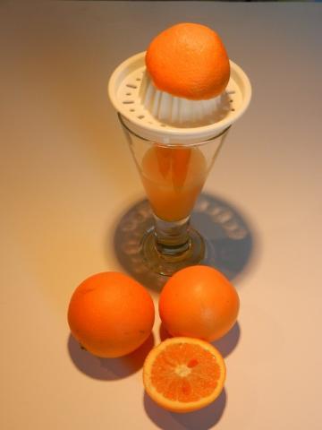 Orangensaft, frisch gepresst | Hochgeladen von: maeuseturm