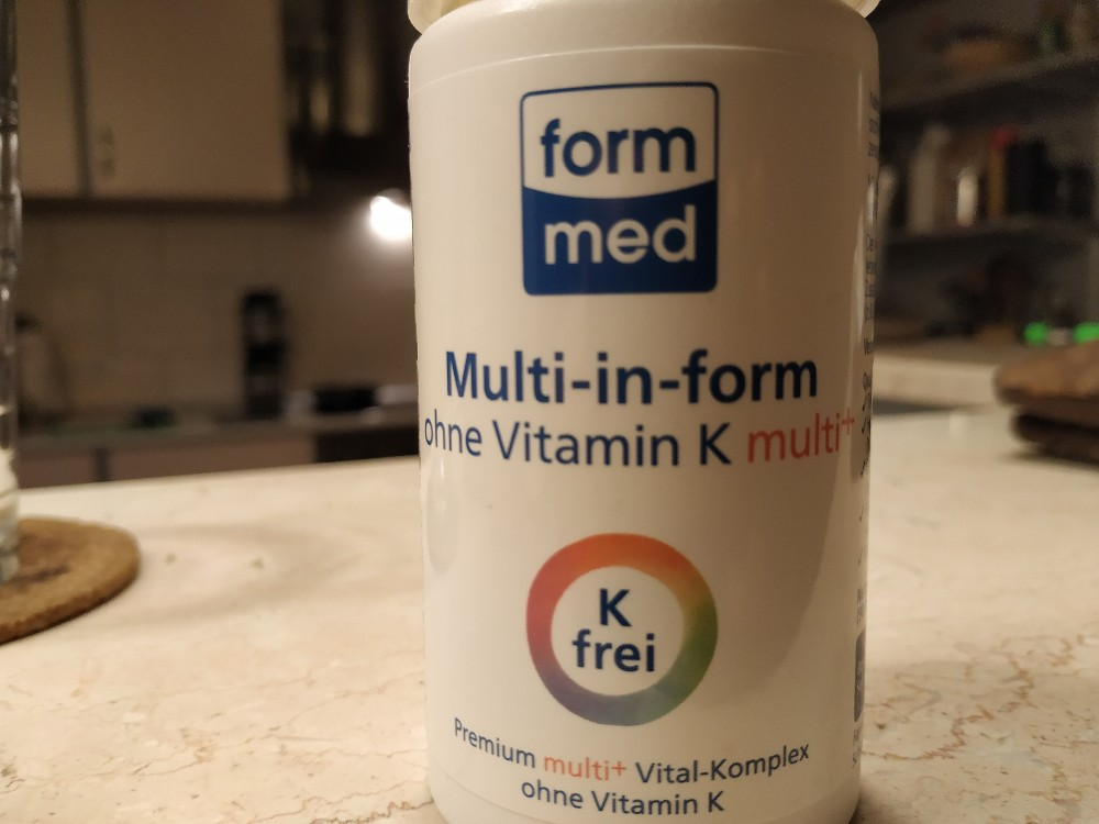 Multi-in-form ohne Vitamin K multi+ von pofanse   Hochgeladen von: pofanse
