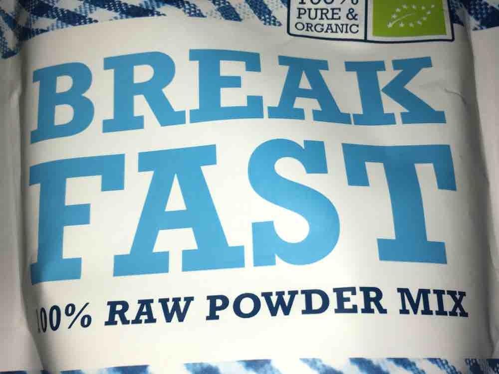 BREAKFAST raw powder mix von ramonahufler521 | Hochgeladen von: ramonahufler521