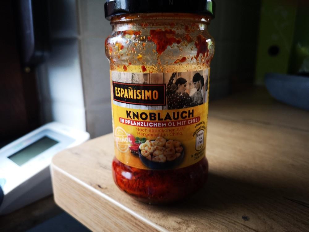 Espaisimo Knoblauch, in pflanzlichem Öl mit Kräutern  von kellner1202829 | Hochgeladen von: kellner1202829