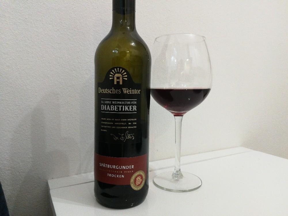 Dr. Kunz Weinkultur für Diabetiker , Spätburgunder Trocken von lauragargulla351 | Hochgeladen von: lauragargulla351