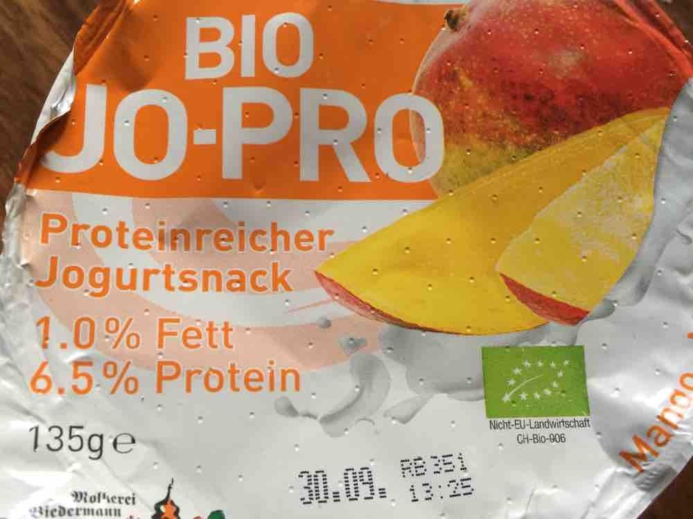 Bio JO-PRO Proteinreicher Jogurtsnack, Mango von dulimariola2106   Hochgeladen von: dulimariola2106