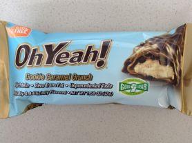 ISS OhYeah Protein-Riegel, Cookie Caramel Crunch | Hochgeladen von: Alice.