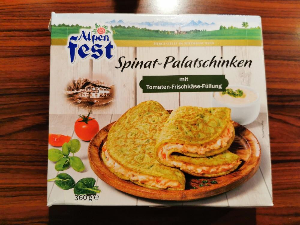 Alpen Fest Spinat-Palatschinken, mit Tomaten-Frischkäse-Füllung von krapfen   Hochgeladen von: krapfen
