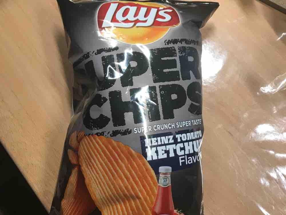 Lay?s Super Chips, Heinz Tomato Ketchup Flavour von maddsnooopyy115 | Hochgeladen von: maddsnooopyy115