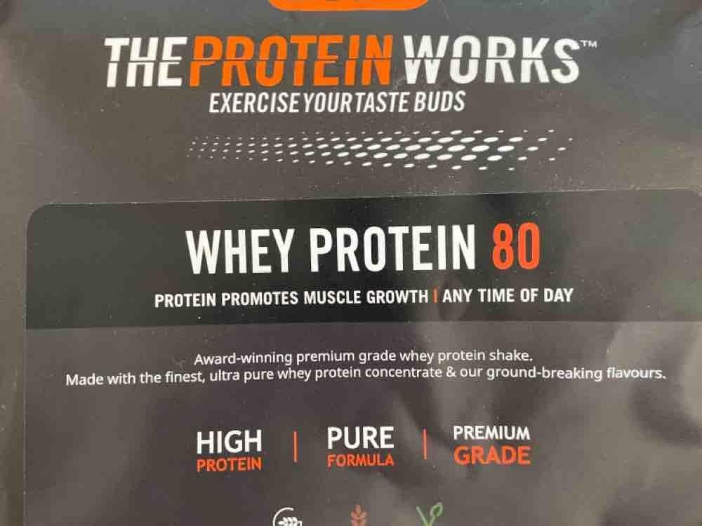 Whey Protein 80, Banane von Hopfentropfen75 | Hochgeladen von: Hopfentropfen75