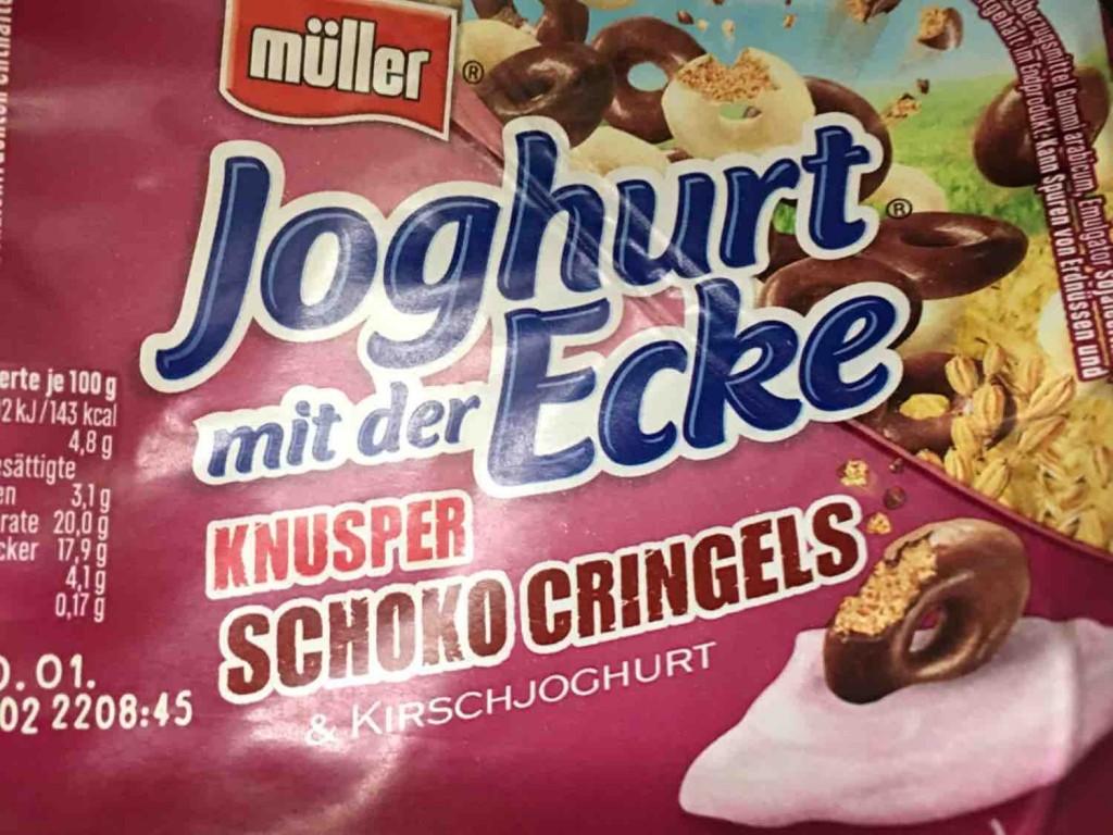 Joghurt mit der Ecke, Schoko Cringels Kirschjoghurt von biamau | Hochgeladen von: biamau