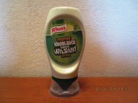 Grillsauce Knorr, Knoblauch Wasabi | Hochgeladen von: cucuyo111
