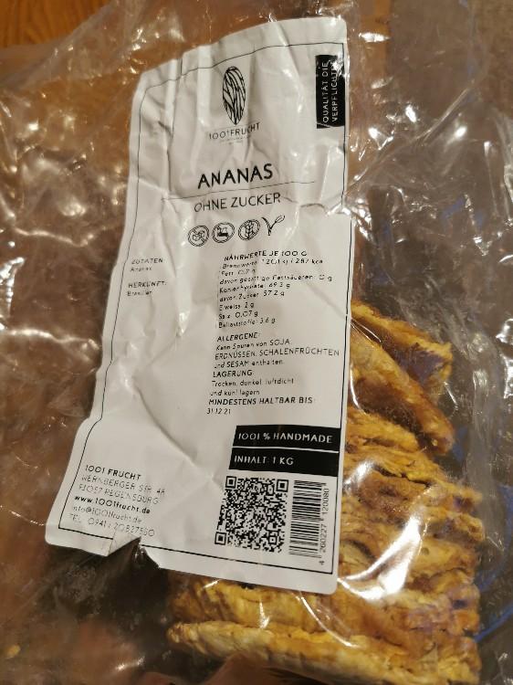 Ananas ohne Zucker getrocknet von see1969 | Hochgeladen von: see1969