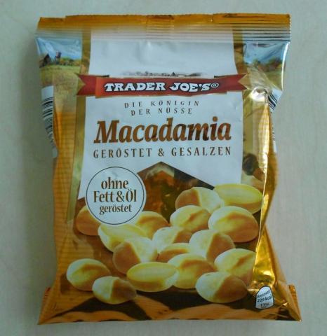 Macadamia Nüsse von Trader Joe