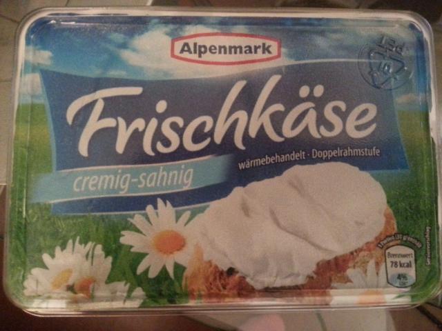 Alpenmark Frischkäse, cremig-sahnig | Hochgeladen von: Rosa