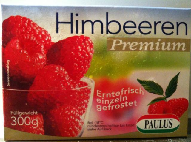 Himbeeren Premium, tiefgefroren   Hochgeladen von: wuschtsemmel