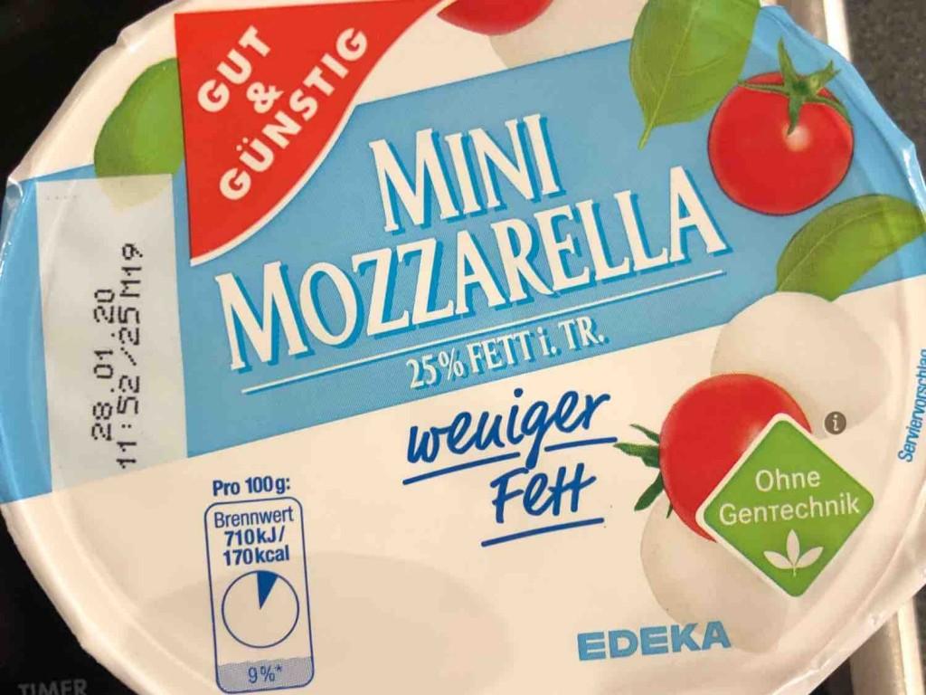 Mini Mozzarella, weniger Fett von Macfly | Hochgeladen von: Macfly