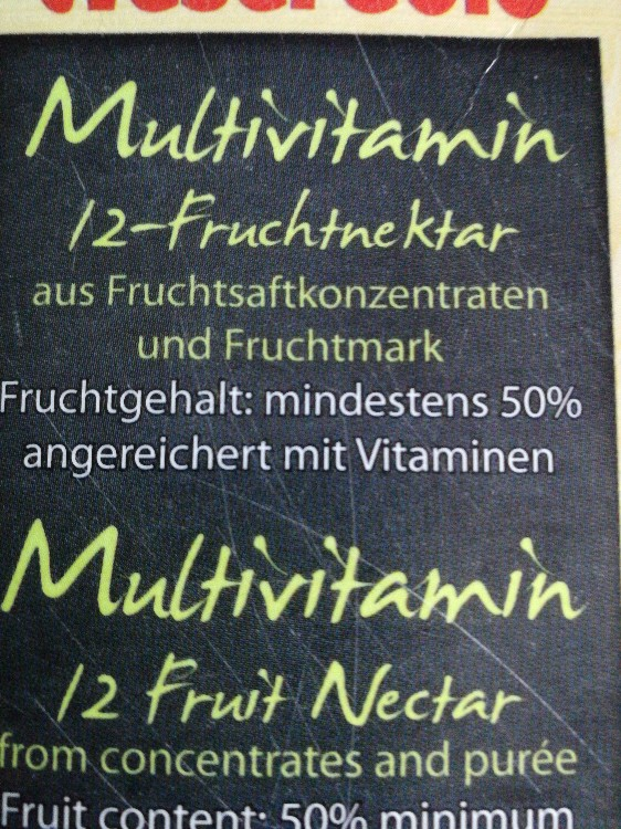 multivitamin 12 Fruchtnektar von anagen65 | Hochgeladen von: anagen65