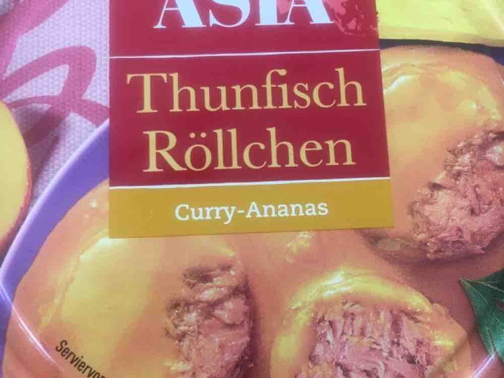 Thunfisch Röllchen, Curry-Ananas von SaphiraRoesing | Hochgeladen von: SaphiraRoesing