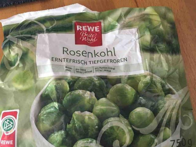 Rosenkohl , erntefrisch tiefgefroren von EchteLiebe | Hochgeladen von: EchteLiebe