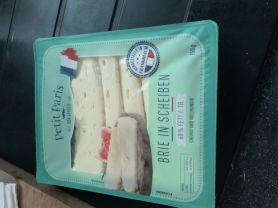 Brie in Scheiben, 60% Fett I. Tr.   Hochgeladen von: krm