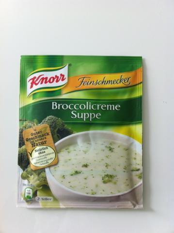 Feinschmecker Broccolicreme Suppe   Hochgeladen von: Nordlicht1