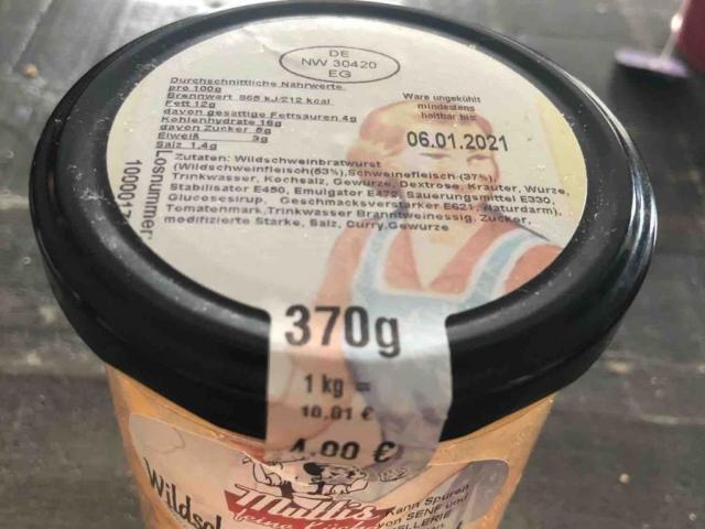 Wildschwein Currywurst von dennisschaefer278   Hochgeladen von: dennisschaefer278