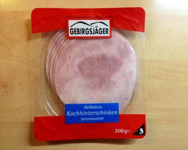 Kochhinterschinken, Delikatess    Hochgeladen von: xmellixx
