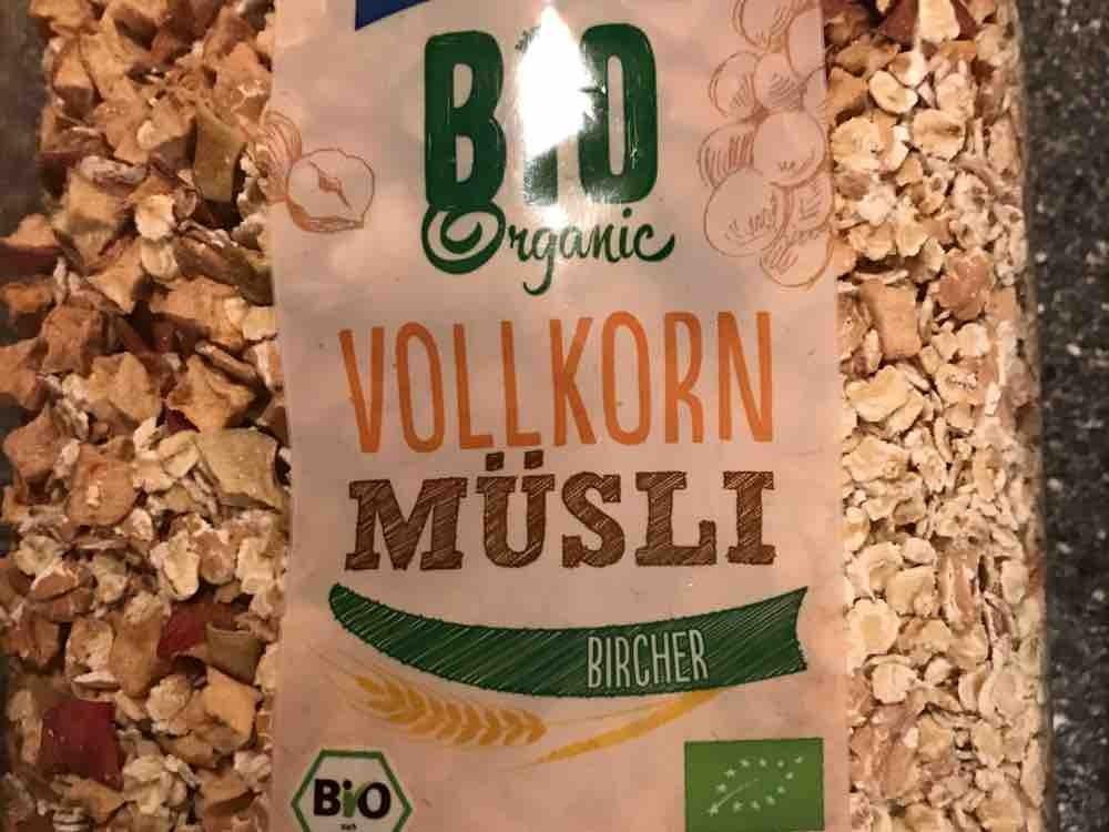 Bio Organic Vollkorn Müsli Bircher von nicokraemer | Hochgeladen von: nicokraemer