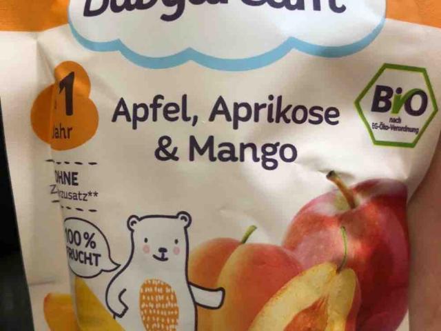 Bio Fruchtpüree Apfel, Aprikose & Mango von leoniewnt | Hochgeladen von: leoniewnt