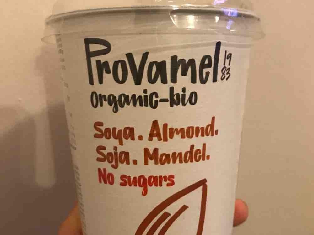Soya Almond Yoghurt, organic no sugar by caughty   Uploaded by: caughty