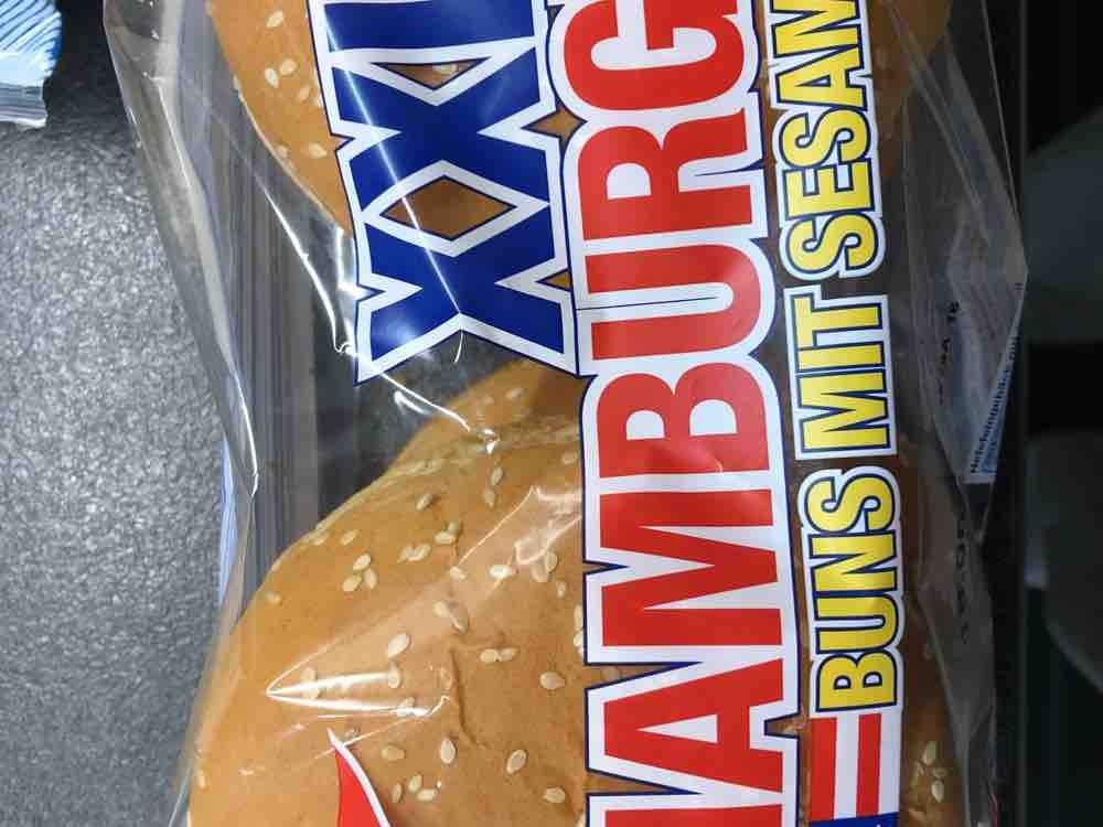 Hamburgerbrötchen mit Sesam von Dani742 | Hochgeladen von: Dani742
