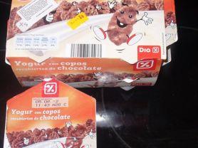 Dia% - Yogur con copos recubiertos de chocolate | Hochgeladen von: Schwarzbär