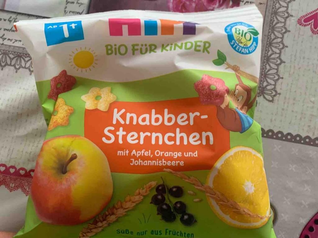 Knabber-Sternchen, mit Apfel, Orange und Johannisbeere von Caatiixx3 | Hochgeladen von: Caatiixx3