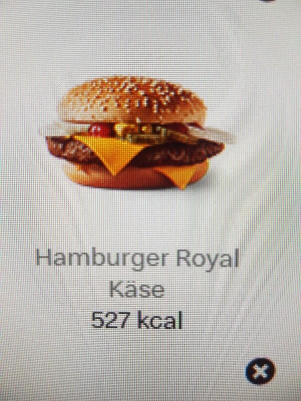 Hamburger Royal Käse von AngeEinstein | Hochgeladen von: AngeEinstein