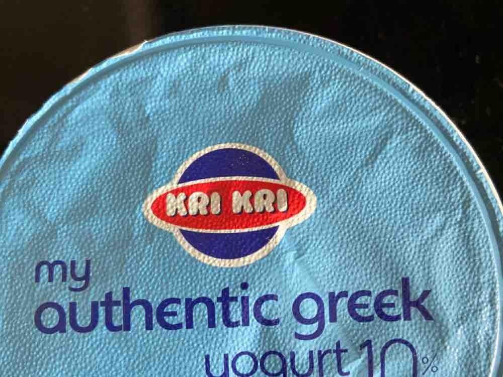 KRi-KRi Original Sahne Joghurt aus Griechenland von juttasander1522   Hochgeladen von: juttasander1522