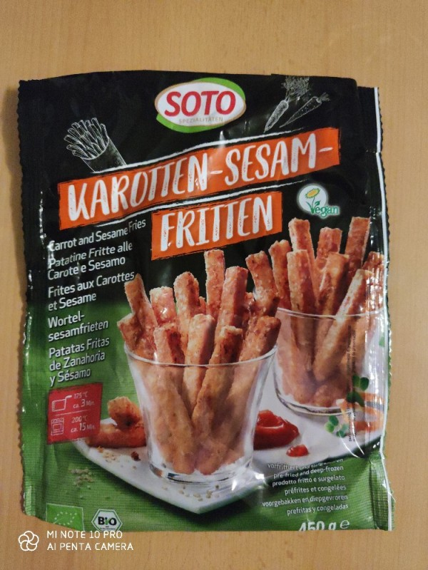 Karotten-Sesam-Fritten von AFaB2911 | Hochgeladen von: AFaB2911