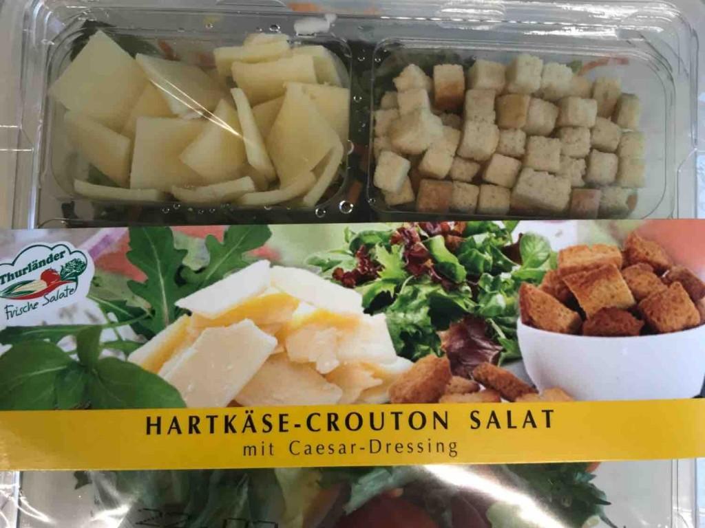 Hartk?se-Crouton-Salat, mit Caesar Dressing von Spieler0815 | Hochgeladen von: Spieler0815