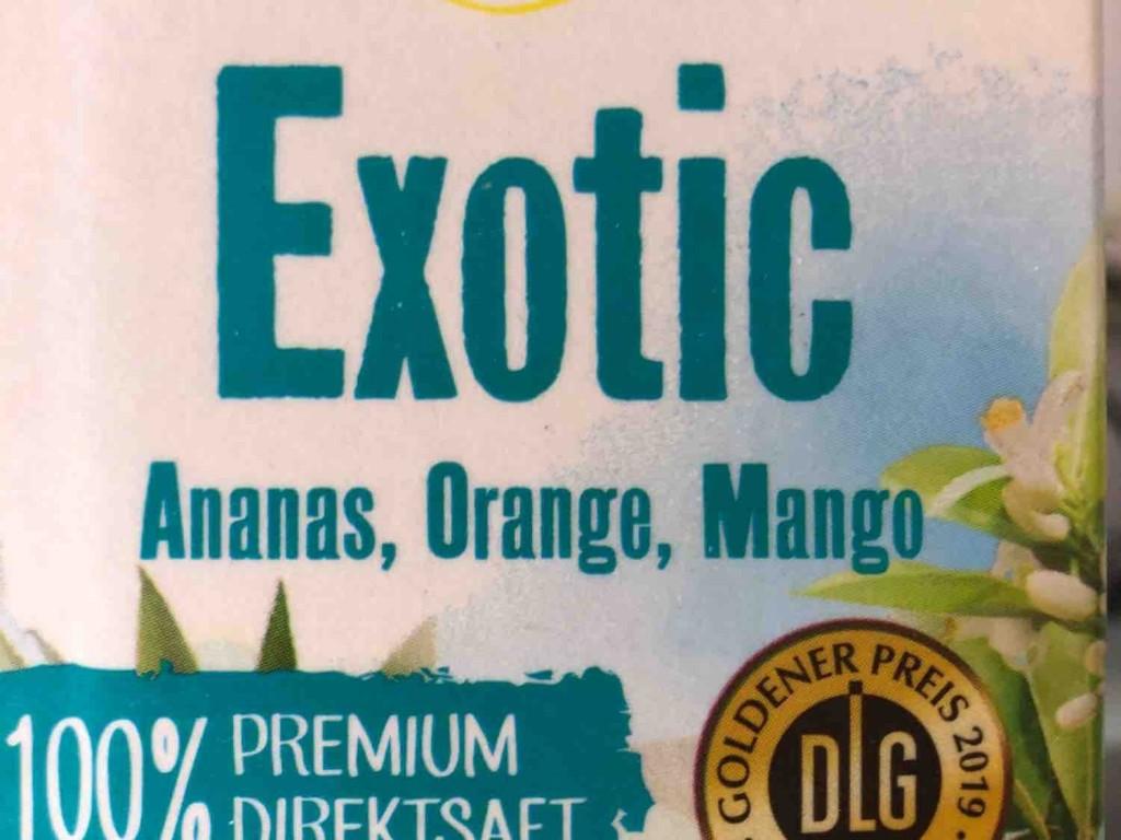 Exotic Direktsaft, Ananas, Mango, Orange von IrisEdinger | Hochgeladen von: IrisEdinger