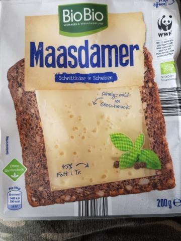 Maasdamer - Schnittkäse in Scheiben von Bikerhonno | Hochgeladen von: Bikerhonno