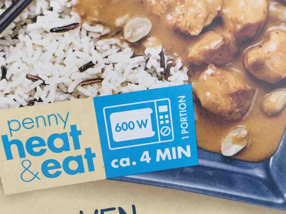 Chicken in  Erdnuss-Sauce, Penny Heat&Eat von lulu0811 | Hochgeladen von: lulu0811