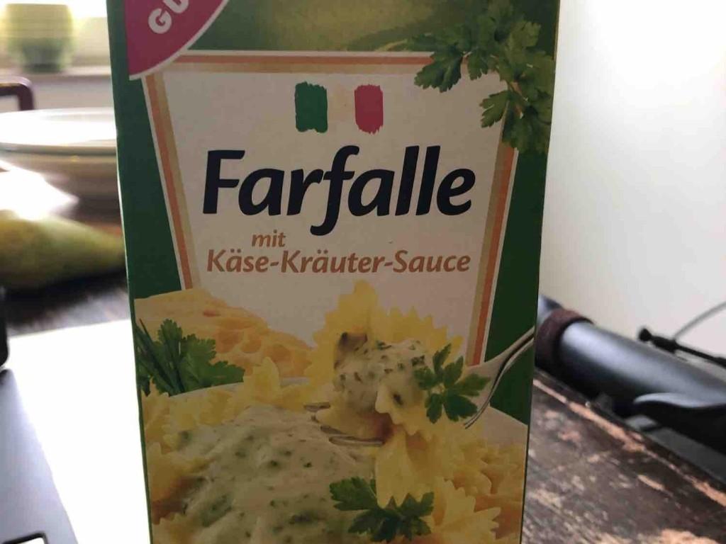 Farfalle Käse-Kräuter-Soße von moehrekoeln135 | Hochgeladen von: moehrekoeln135