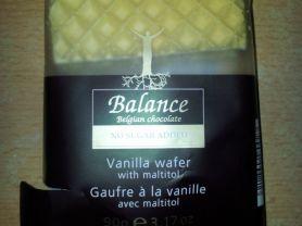 Balance Vanilla Wafer, Vanille   Hochgeladen von: tklug85