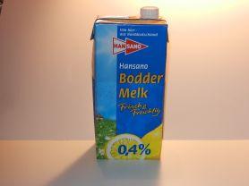 Hansano, Bodder Melk 0,4 %   Hochgeladen von: maeuseturm
