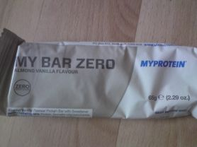 Myprotein, My Bar Zero, Almond Vanilla Kalorien