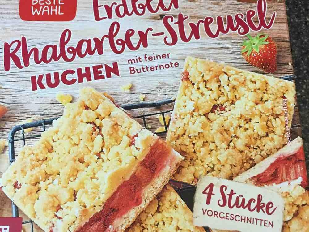 Erdbeer-Rhabarber-Streusel Kuchen von AngieHH26 | Hochgeladen von: AngieHH26