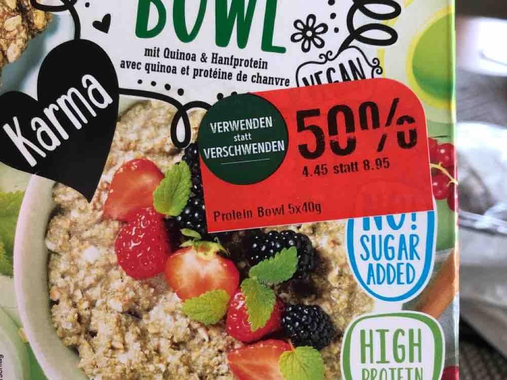 Protein Bowl, mit Quinoa & Hanfprotein von avocando | Hochgeladen von: avocando