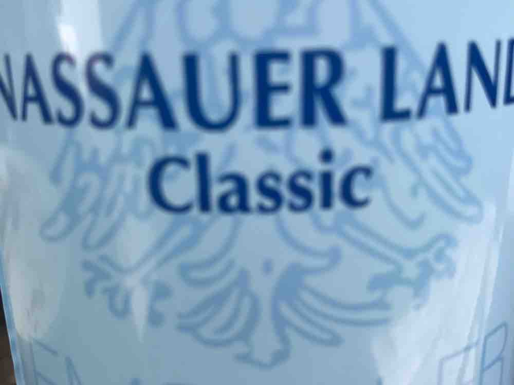 Nassauer Land, Natürliches Mineralwasser, Classic von Gaetano2013 | Hochgeladen von: Gaetano2013