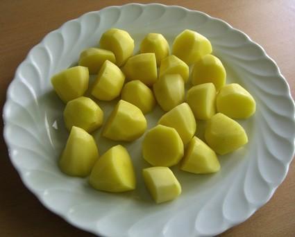 Kartoffeln in der Microwelle gegart   Hochgeladen von: Graphologe