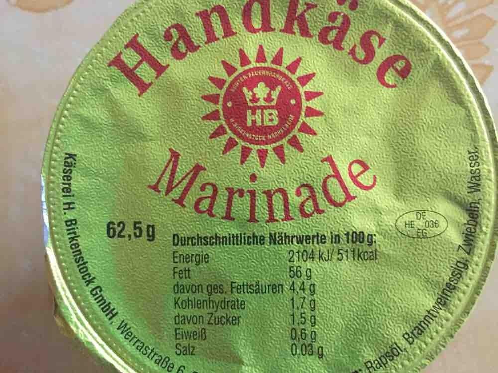 Birkenstock Handkäse mit Musik - Marinade von georg55 | Hochgeladen von: georg55